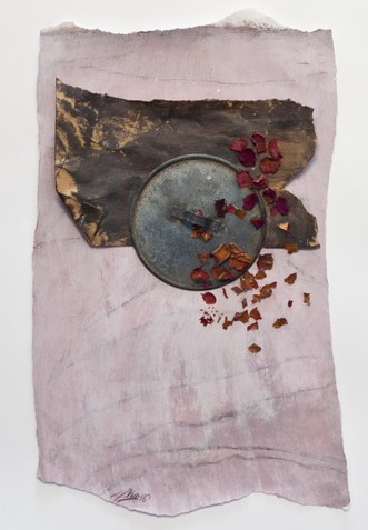 60-35 cm werk op papier