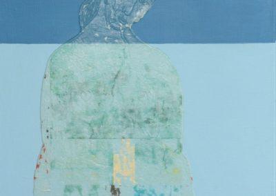z.t. - 90x60 cm acryl op doek