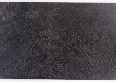 Zonder titel, 5H2014, olie op hout, 47 x 80 cm