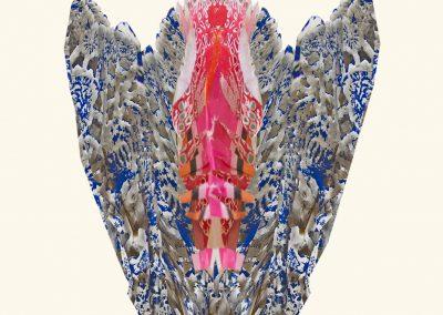 5 delfse blauwe tulp 1Kl