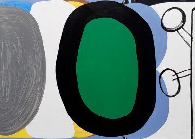 Eveline Braak acryl op doek